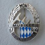 Musikleistungsabzeichen in Silber