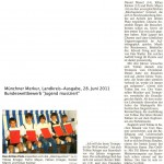 """Bundeswettbewerb """"Jugend musiziert"""" (Münchner Merkur, Landkreisausgabe, 28.6.2011)"""