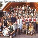 Preis für Polonaise  (Münchner Merkur, Landkreisausgabe/Kultur, 2./3.Juli.2011)