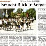 90 Jahre Krieger- und Veteranenkameradschaft ( Münchner Merkur, 18.Juli 2011)