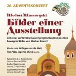 """Adventskonzert 2011 """"Bilder einer Ausstellung"""""""