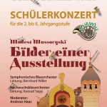 """Schülerkonzert 2011 """"Bilder einer Ausstellung"""""""