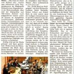 Musikalisches Dahinfegen von einem Höhepunkt zum anderen (Münchner Merkur, Lkr.-Süd, 17. 1. 2012)
