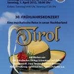 """Frühjahrskonzert 2012 """"Tirol"""""""