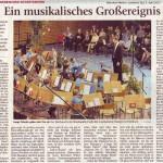Ein musikalisches Großereignis (Münchner Merkur, Lkr-Süd, 3.April 2013 )