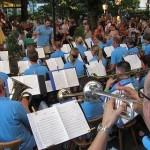 Biergartenmusik am 1. August 2014