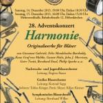"""Adventskonzert 2013 """"Harmonie"""""""