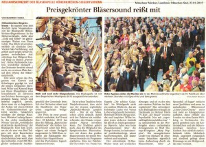 Münchner Merkur, 23. Januar 2015