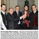 Die freudige Überraschung (Münchner Merkur, 22.04.2015)