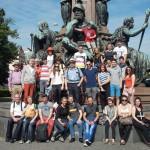 Die Tanzgruppe aus Zeiden/Siebenbürgen zu Besuch in Oberbayern