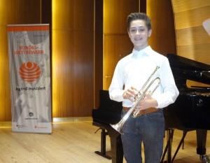 Tobias Krieger wurde Bundessieger bei Jugend musiziert