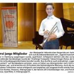 Drei junge Mitglieder … (Münchner Merkur, 28. Juni 2015)