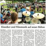 Klassiker und Filmmusik auf neuer Bühne (Münchner Merkur, 30. Juni 2015)