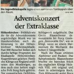 Adventskonzert der Extraklasse (Münchner Merkur, 17. Dezember 2015)