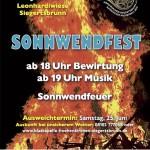 Sonnwendfest 2016