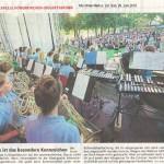 Musik ist das besondere Kennzeichen (Münchner Merkur, 29. Juni 2016)