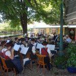 Blasmusik im Biergarten am 14. August 2016