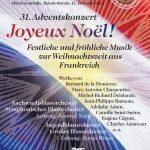 """Adventskonzert 2016 """"Joyeux Noël!"""""""