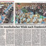 Ein musikalischer Wink nach Frankreich (Münchner Merkur, 13.12.2016)