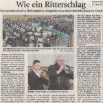 Wie ein Ritterschlag (Münchner Merkur, 24.01.2017)