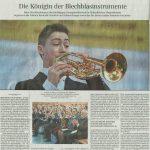 Die Königin der Blechblasinstrumente (Süddeutsche Zeitung, Landkreis München, 23.01.2017)