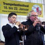 Ein Festival der Trompeten