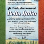"Frühjahrskonzert 2018 ""Bella Italia"""