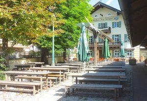 Biergarten Inselkammer Siegertsbrunn