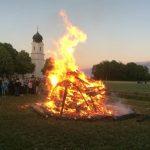 Sonnwendfest 2018: Mit Musik und Feuer gegen die Schafskälte