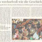 So wechselvoll wie die Geschichte (Süddeutsche Zeitung, 17.12.2018)