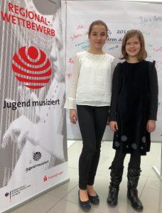 Dorothee Ulbricht und Julia Kehrer, JuMu 2019