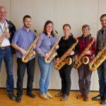 """""""Besinnlich ins Wochenende"""" mit dem Saxophon-Ensemble"""