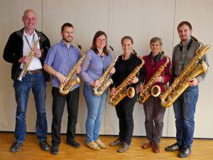 axophon-Ensemble der Blaskapelle Höhenkirchen-Siegertsbrunn
