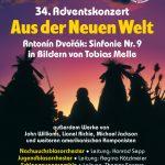 """Adventskonzert 2019 """"Aus der Neuen Welt"""""""
