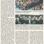 1200 Gäste jubeln begeistert. Blaskapelle feiert Erfolge bei Dreifach-Adventskonzert (Münchner Merkur)