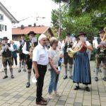 Abschiedsstanderl für Frau Squarra (Münchner Merkur, 09. August 2021)