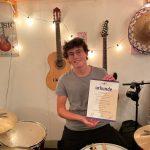Die Blaskapelle gratuliert: Ein großer Erfolg für Paul Steinborn!